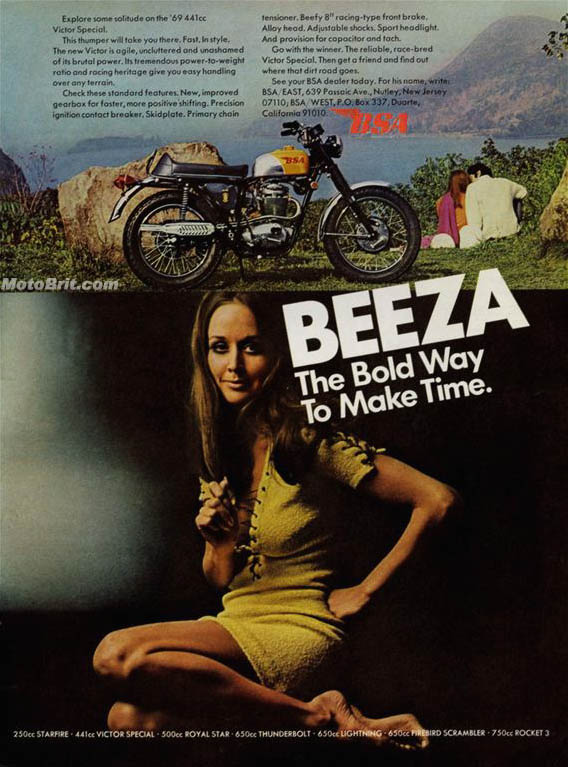 1969 BSA Victor Special