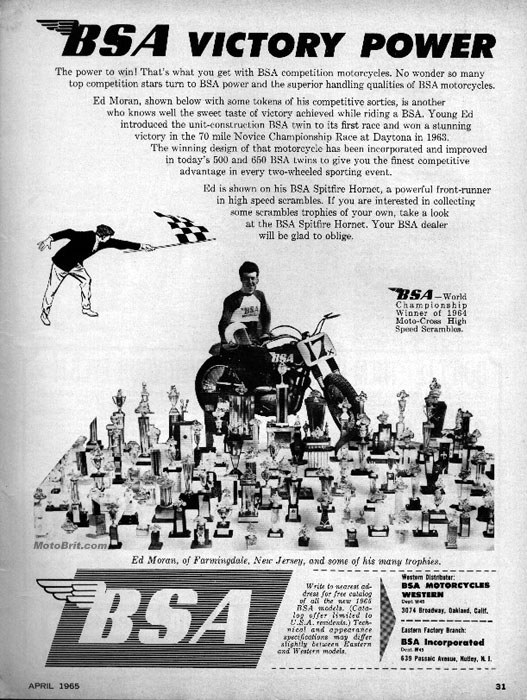 1965 BSA Victory