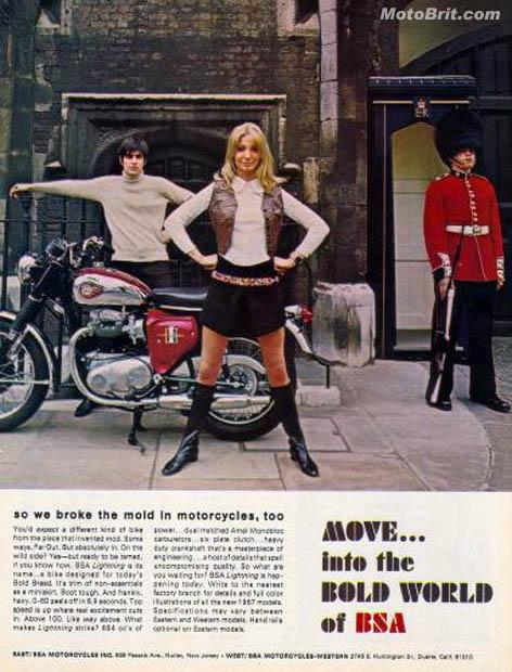 1967 BSA Lightning