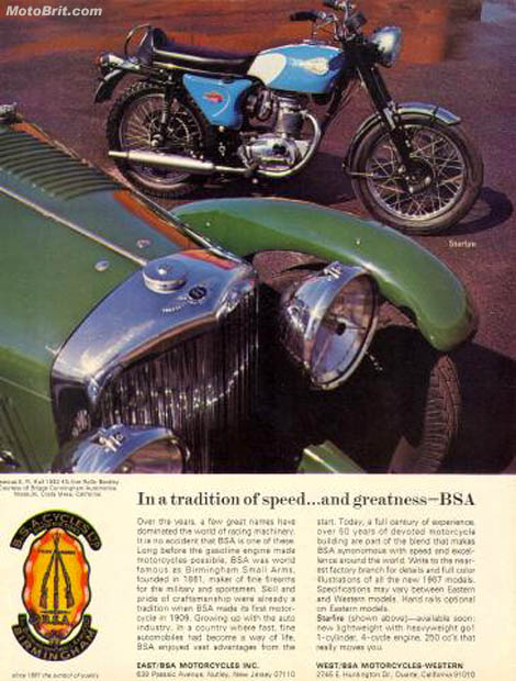 1967 BSA Starfire