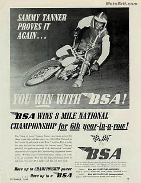 BSA 8 Mile Win
