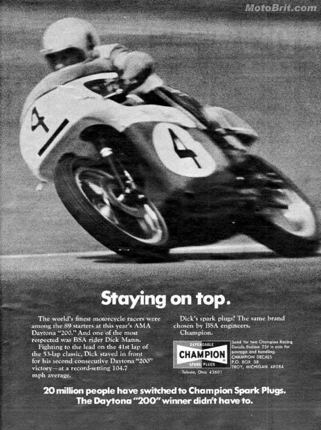 1971 BSA Daytona Victory
