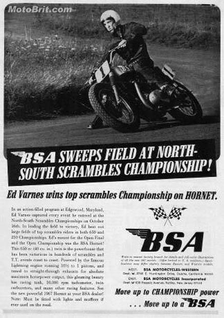 BSA Hornet Win