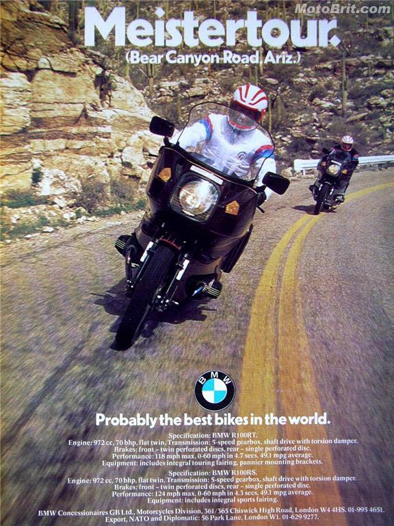 BMW 100RT/100RS