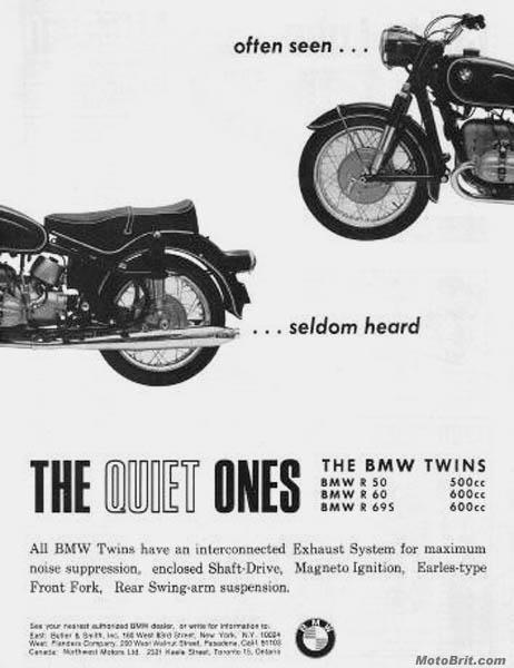 BMW Quiet Ones
