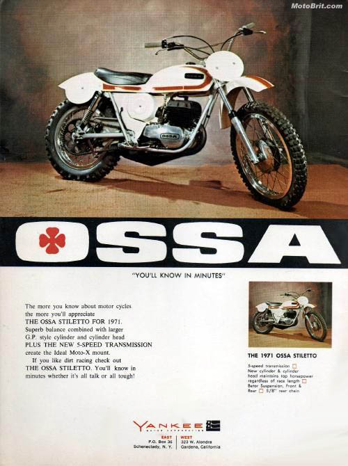 1971 OSSA Stiletto