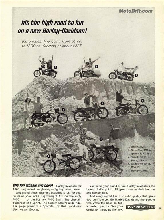 1966 H-D Line