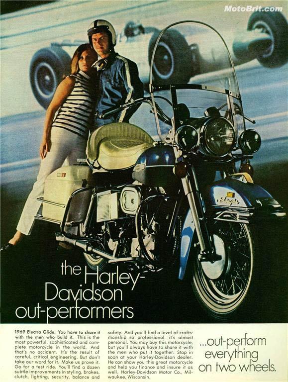 Harley-Davidson 1969 Electra Glide