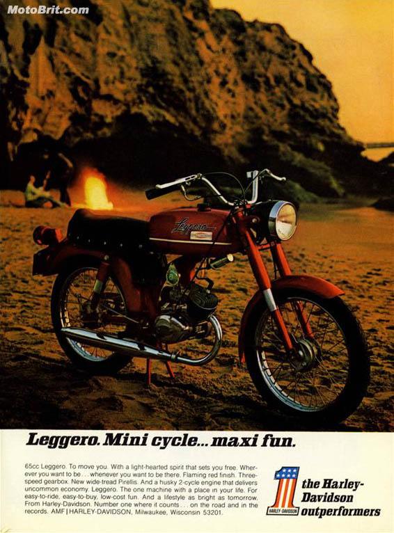 Harley-Davidson 1971 Leggero