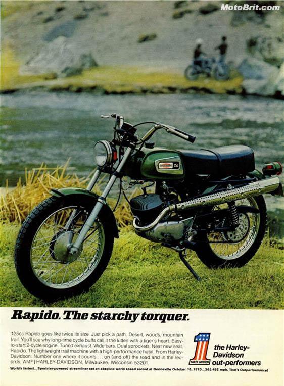 Harley-Davidson 1971 Rapido