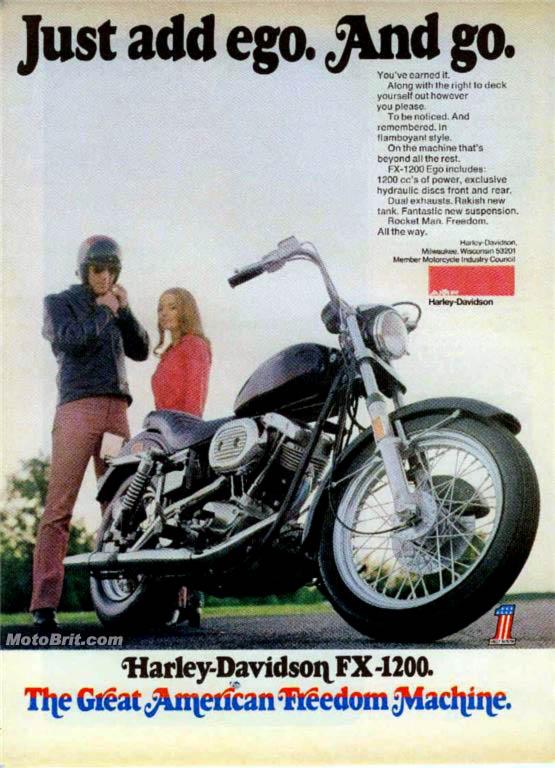 Harley-Davidson 1973 FX 1200