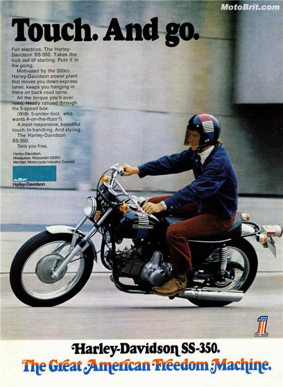 Harley-Davidson 1973 SS 350