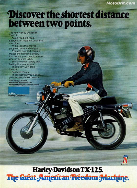 Harley-Davidson 1973 TX 125