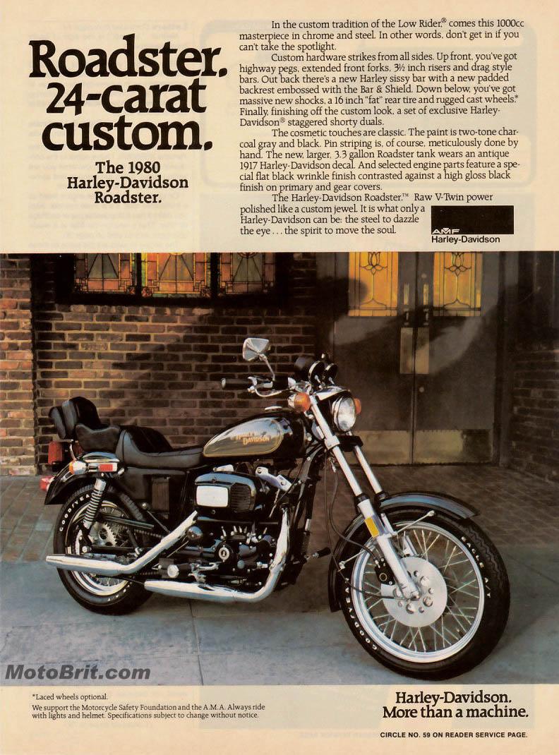 Harley-Davidson 1980 Roadster