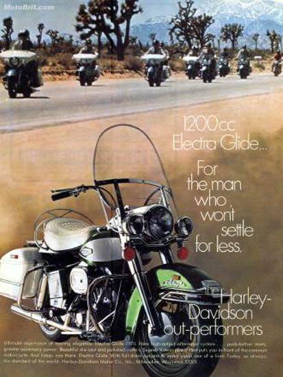 Harley-Davidson 1970 Electra Glide