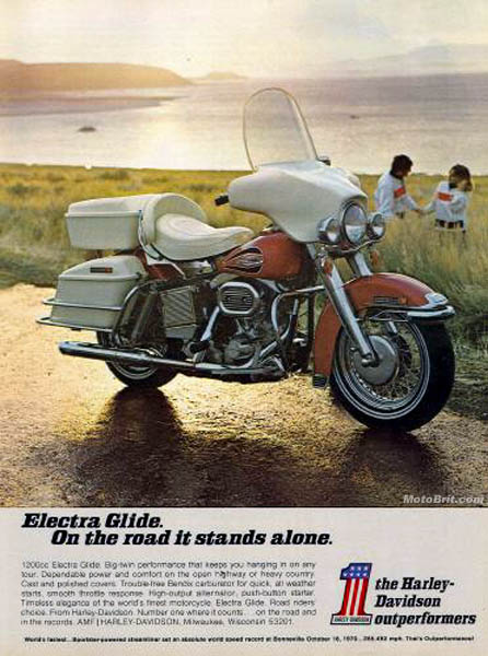 Harley-Davidson 1971 Electra Glide