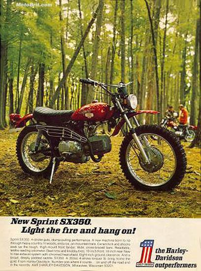 Harley-Davidson 1971 SX-350