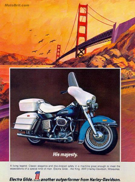 Harley-Davidson 1972 Electra Glide