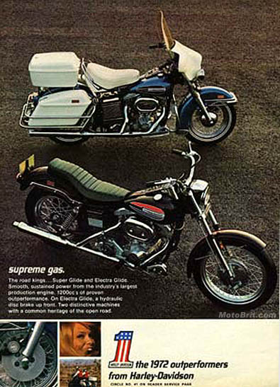 1972 H-D OutPerformers