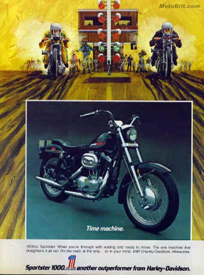 Harley-Davidson 1972 Sportster