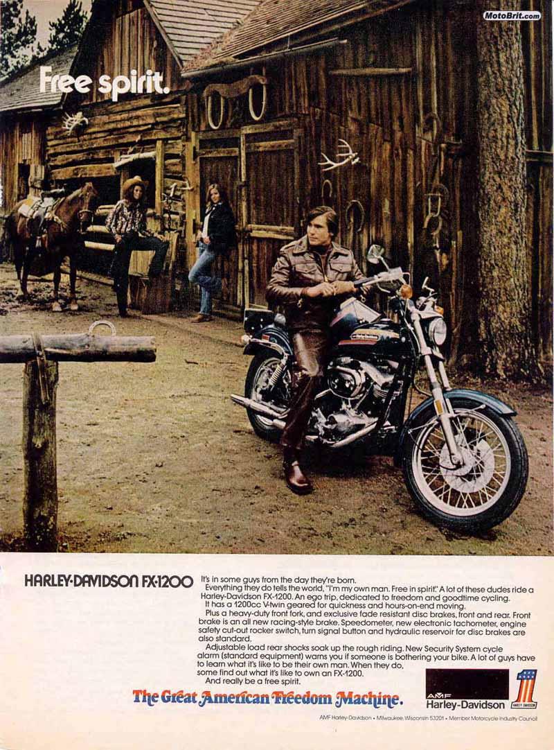 Harley-Davidson 1974 FX 1200