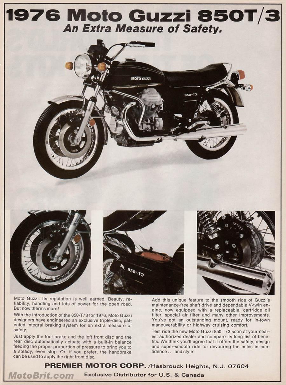 '76 MotoGuzzi 850t/3