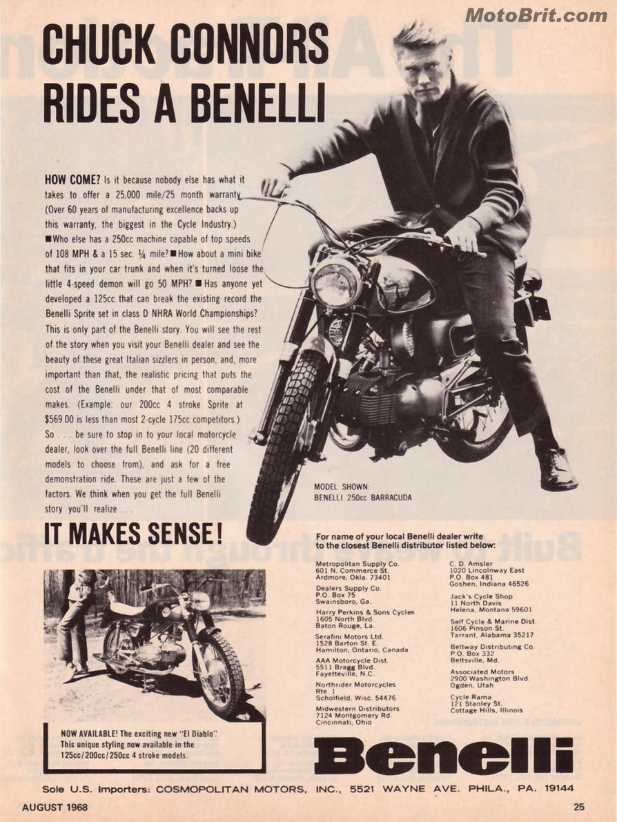 Benelli-Chuck Conners