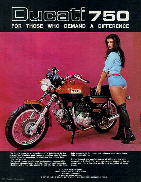 1974 Ducati 750cc