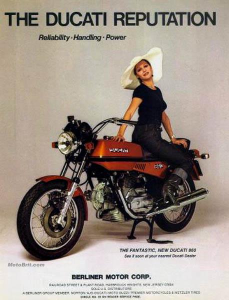 1975 Ducati 860cc