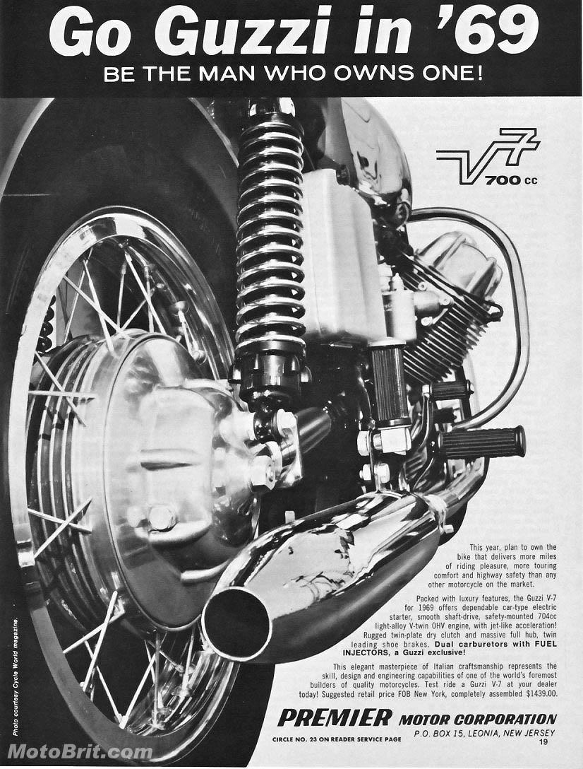 1969 MotoGuzzi V7