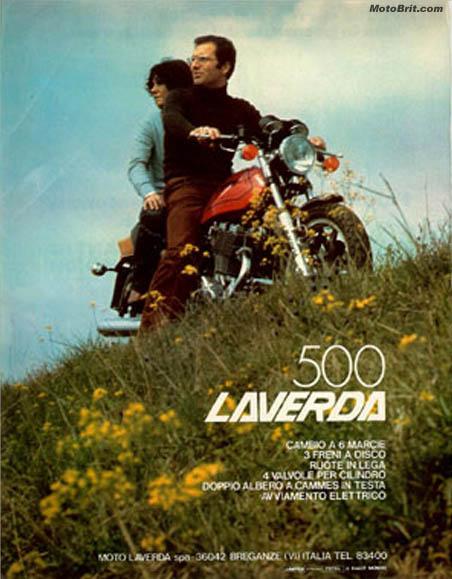 1977 Laverda 500cc