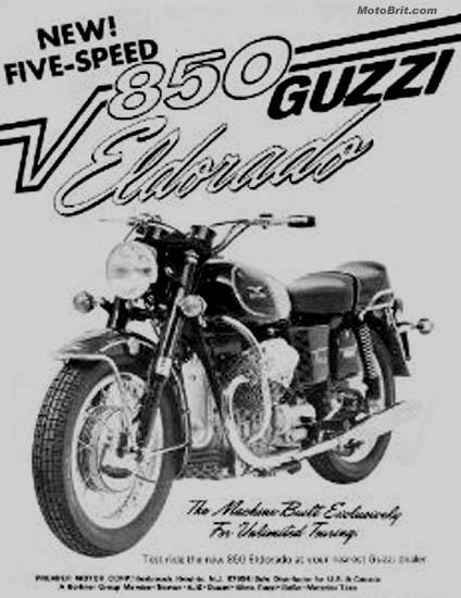 Moto Guzzi V850 Eldorado