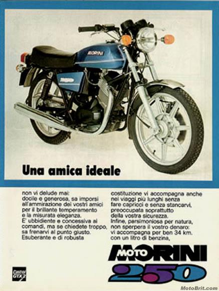 1977 Moto Morini 250cc