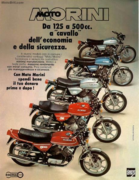 1978 Moto Morini Line