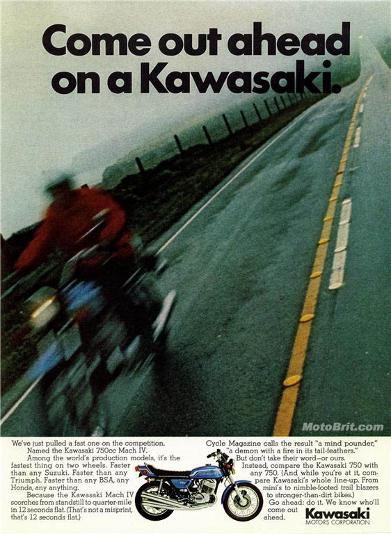 Kawasaki 750 Mach IV