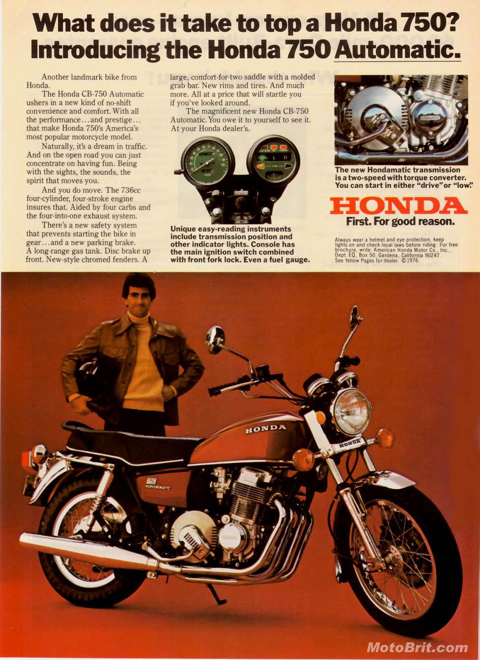 Honda 750 Auto