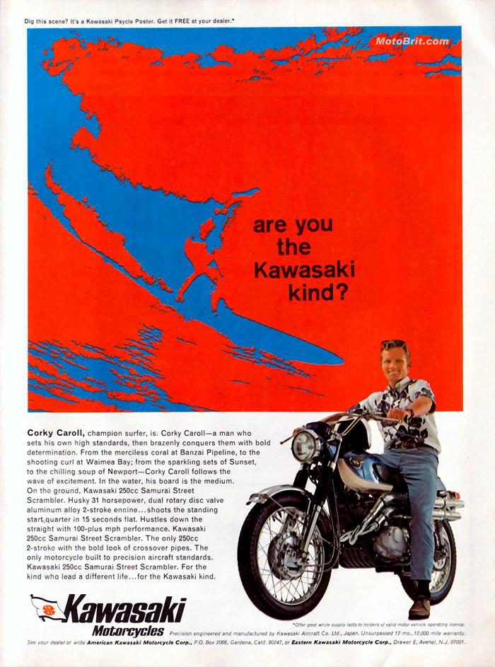 Kawasaki Samurai 250cc