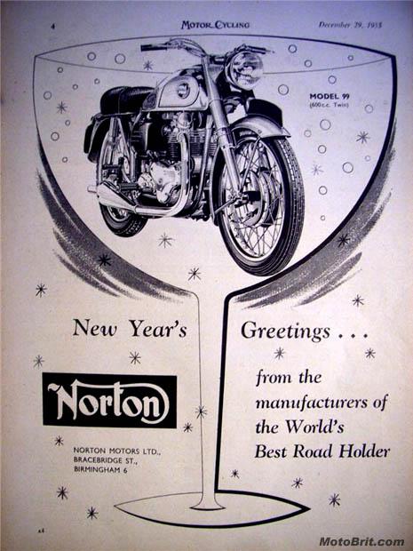 1955 Norton Model 99 600cc