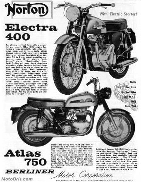 1963 Electra & Atlas