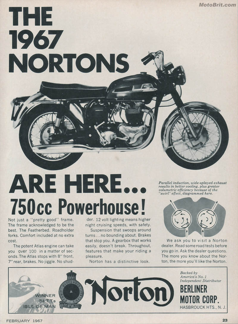1967 Nortons are here!