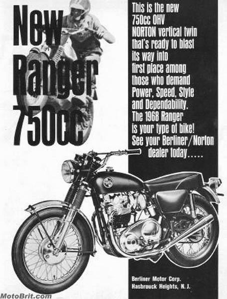 1968 Norton Ranger