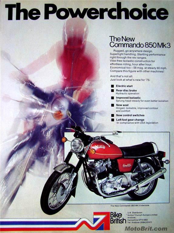 1975 Norton Interstate UK
