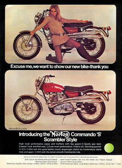 1969 Norton Commando S