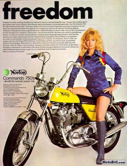Norton Commando Hi-Rider