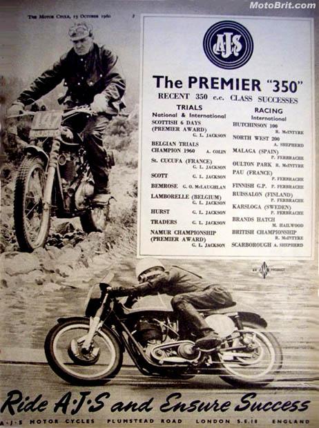AJS 350cc Racing