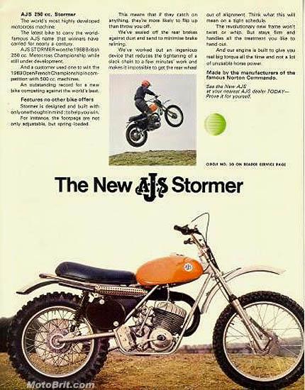 1970 AJS Stormer