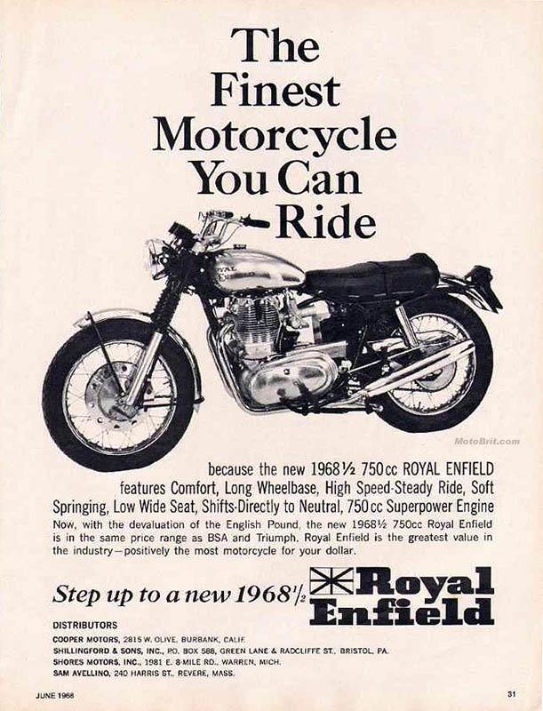 1968 1/2 Royal Enfield