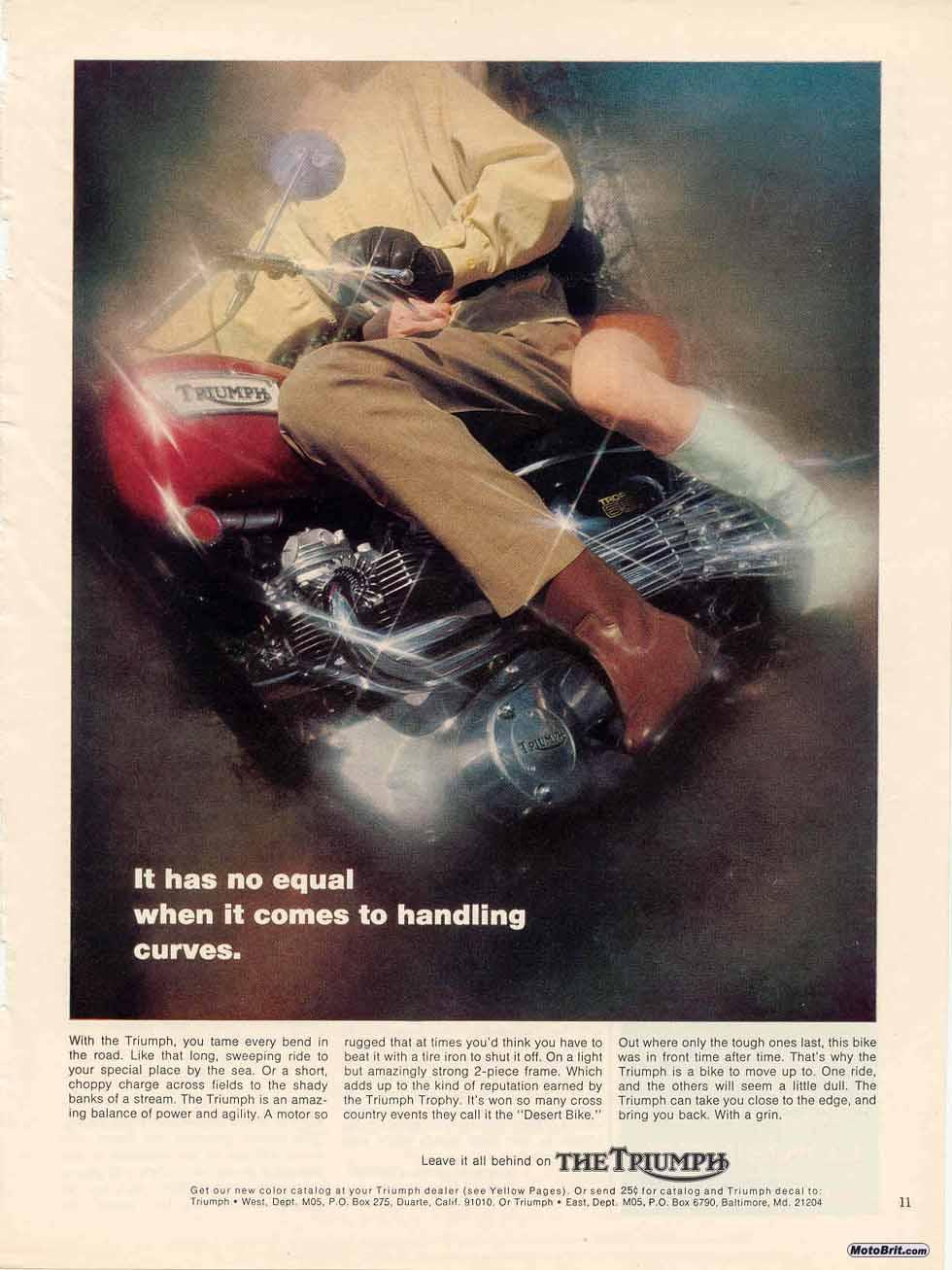 1969 Triumph Trophy 650