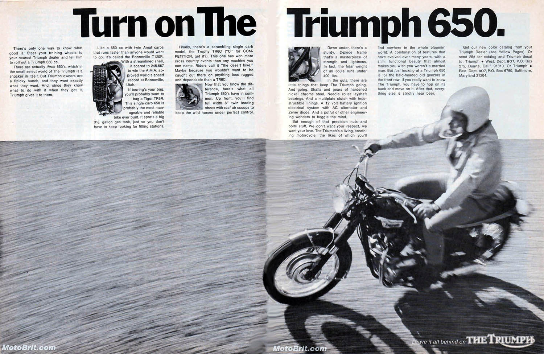 1970 Triumph 650