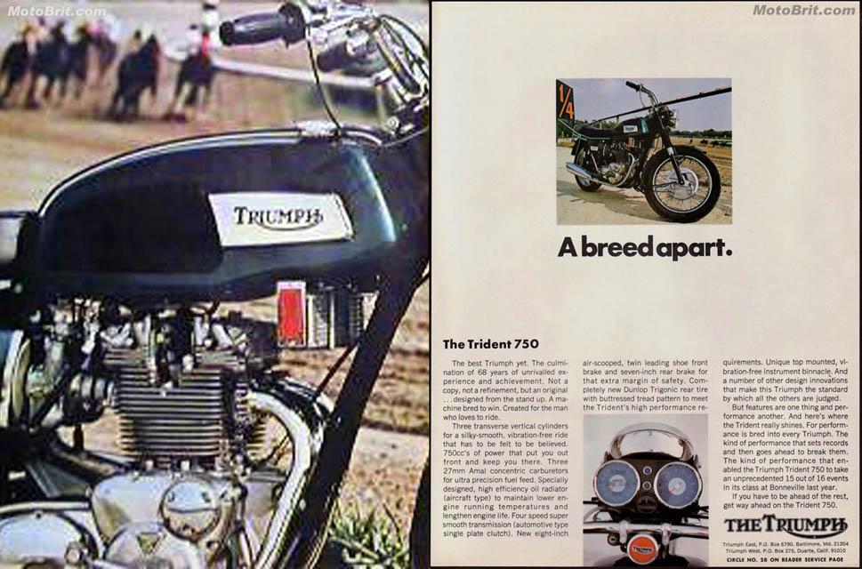 1970 Triumph Trident T150